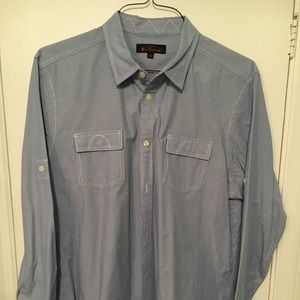 Ben Sherman Pinstripe Casual Men's XL Shirt